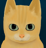 Orange Cat by Catinshire