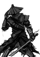 Quick Sketch: Samurai by ShockyTheGreat