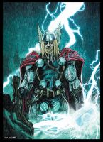 Thor - Master of the Storm by LiamShalloo