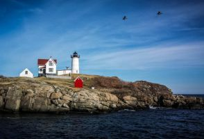 -- Nubble Lighthouse -- by AshleyxBrooke