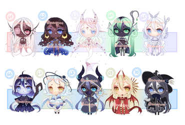 ADOPTS: 100 Adopt challenge 61-70 [2/10 OPEN] by Mewpyonadopts
