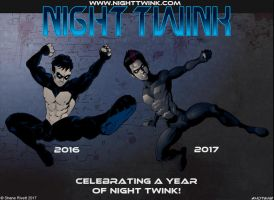 Night Twink Anniversary by shaneoid77