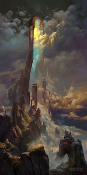 The Gate of Sahaqiel by PeteMohrbacher