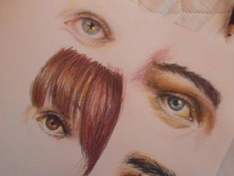 Just a bit of Colouring Pencil practice by OMRowling