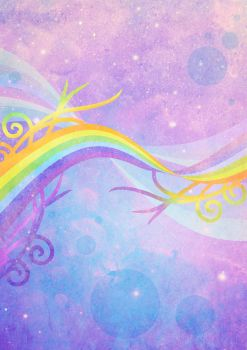 815 Rainbow Background 01 by Tigers-stock