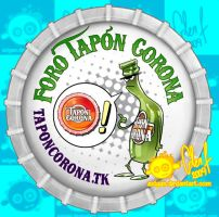 Tapon Corona Logo by Axigan