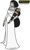 Mythology - Demeter (Winter Robes) by HewyToonmore