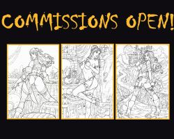 Promotional list of commissions: 10 Vacancies by LCFreitas