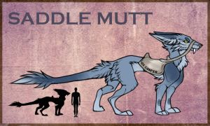 Saddle Mutt by TealStains