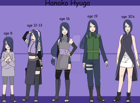 Hanako hyuga throw out the ages~ by Blueskys33