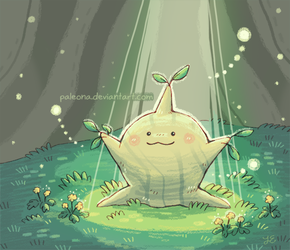 hopeful sprout by Paleona