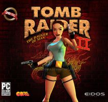 Tomb Raider 2 - Game Cover by JhoCorrea