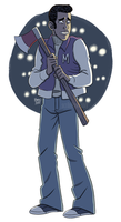 Until Dawn - Matt by scribblywobbly