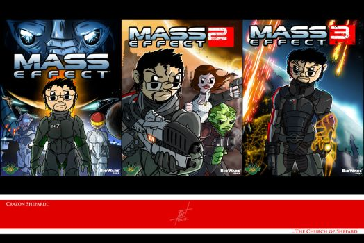 Crazon's Mass Effect Trilogy by Crazon