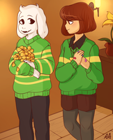 Golden Flowers by Fleshmaid