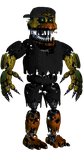 Nightmare Gold94Chica (Early B-Day Gift) by YellowBonnie01