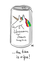 Unicorn Tears by Corkhead
