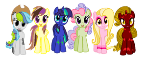 Pony Adopts! (Name Your Price)(CLOSED) by rustics
