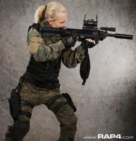 RAP4 Red Dot Paintball Sight by RealActionPaintball