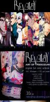 REVELRY ARTBOOK - FOR SALE by Jennaris