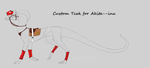 Custom Tack Set for Akita--inu by xWolfwingx