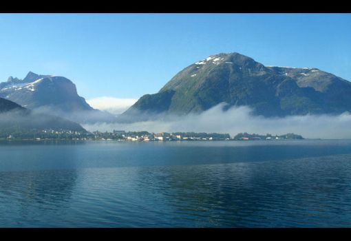 Norway - A Misty Morning by AgiVega