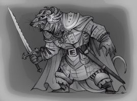 Redwall Villains: Damug Warfang. by FortunataFox