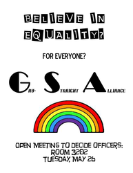 GSA Poster by meahmeah