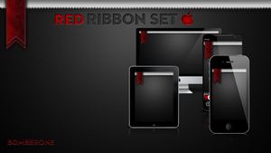Red Ribbon Set by BomBerOne666