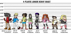 Height Chart Junior by ObsidianWolf7