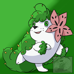 Fakemon- Mega Shaymin Land-Form by DragonCuali