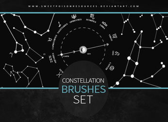 Constellation Brushes | Photoshop by sweetpoisonresources