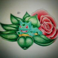 Little Bulbasaur (Bulby) by Adolessence