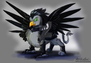 Commission Gildann the Griffin by Mad--Munchkin