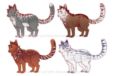 Kitty point adoptables by Fantasy-cattery