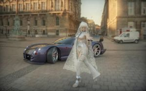 Lili and my tvr by michaelvr4