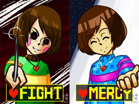 Undertale - Choose your Route by Linkakami