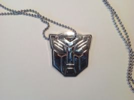 Autobot necklace by Miss-AutumnRose