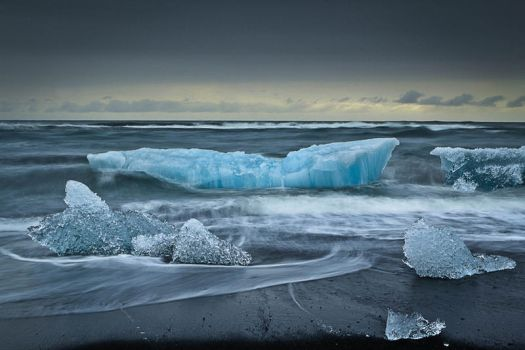 Icebergs on the Beach by cwaddell