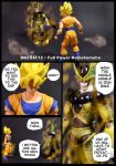 Cell vs Goku Part 4 - p1 by SUnicron