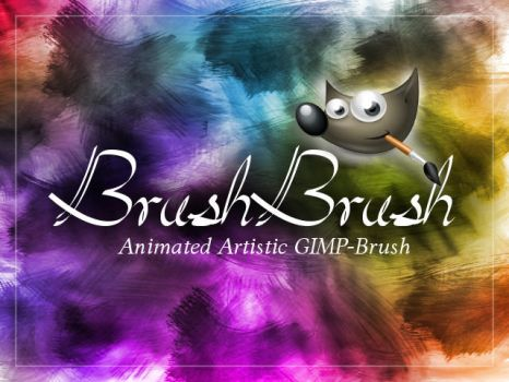 GIMP-BrushBrush by Chrisdesign