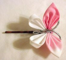 Small Butterfly Bobby Pin by EruwaedhielElleth