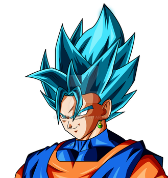 Vegito Dragon ball super palette 2 by AL3X796