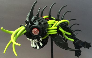Bionicle MOC: Infected Needlemouth by LordObliviontheGreat