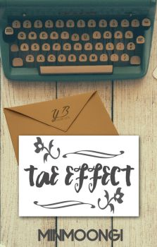 Tae Effect [Book Cover] by YuriBlack