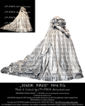 Silver Dress PNG Premium Stock by CD-STOCK