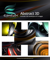 FREE Abstract 3D Background Wallpaper Set by EdenEvoX