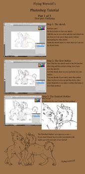 Photoshop tutorial part 1 by NathalieNova
