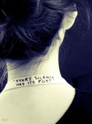 Every Silence has Its Poet by seek-and-hide