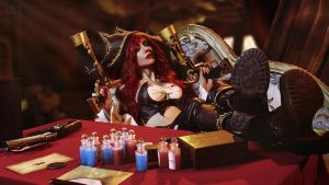 Miss Fortune from league of legends by 23619